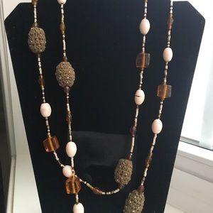 "Jewelry - Indian Posh Necklace 52"""